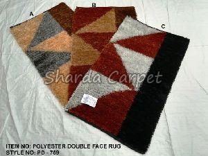 Double Face Polyester Rugs 10