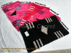 Double Face Polyester Rugs 12