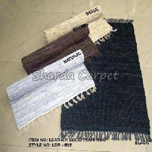 Leather Solid Rugs