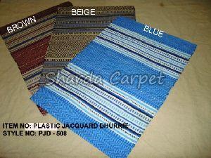 Plastic Jacquard Dhurries 02