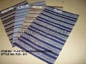 Plastic Jacquard Dhurries 05