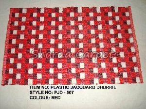 Plastic Jacquard Dhurries