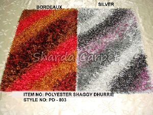 Polyester Shaggy Dhurries 03
