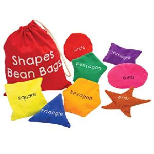 Shapes Bean Bags Cotton
