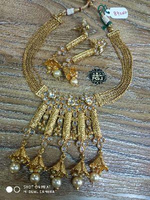 Gold Necklaces Set 01