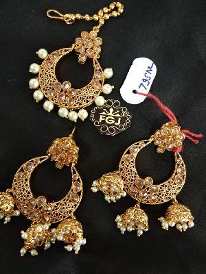Gold Necklaces Set 02
