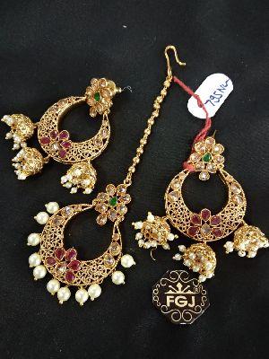 Gold Necklaces Set 04