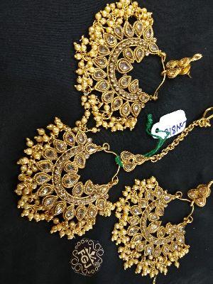 Gold Necklaces Set 08