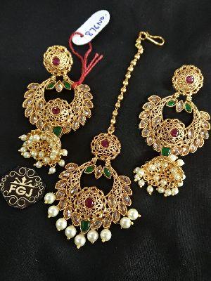 Gold Necklaces Set 09