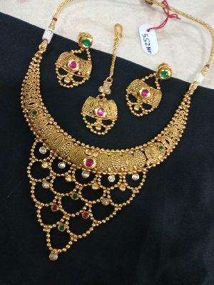 Gold Necklaces Set 13
