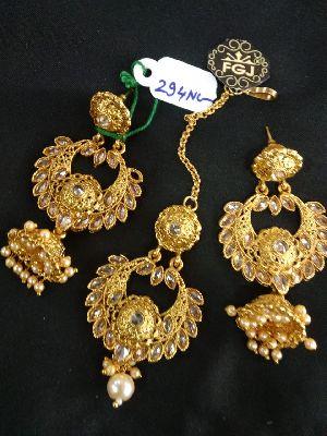 Gold Necklaces Set 14