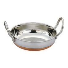 Stainless Steel Kadai with Copper Bottom