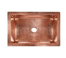 Polished Standard Copper Sink