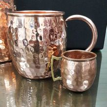 Solid Copper Moscow Mule