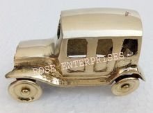 Home Decor Brass Jeep Model Car