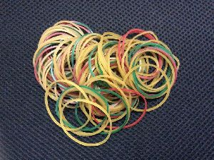 100% Assorted Color Rubber Bands