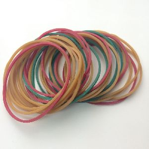 80% Assorted Color Rubber Bands