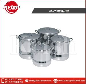 Belly Stainless Steel Stock Pot