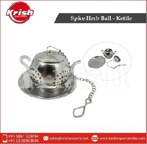 Spice Herb Grinder Ball Kettle