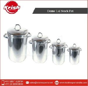 Stock Pot Sets With Dome Lid
