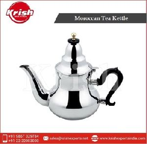 Unique Design Moroccan Stainless Steel Tea Kettle