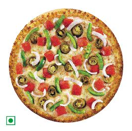 Mexican Green Wave Pizza