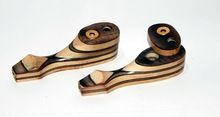 Joint wood smoking pipe