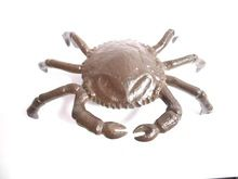 Sea crab aluminum decorative figurine