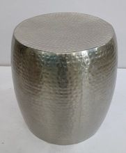 Hammered Drum Stool