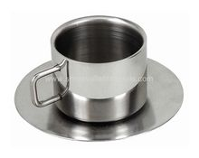 Stainless Steel Double Wall Tea Mug