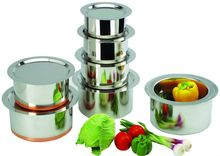 Stainless Steel Tope with Lid