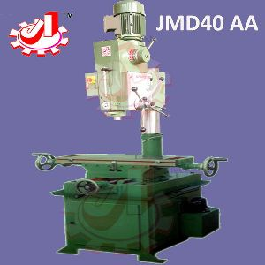 JMD40AA : 40mm Cap. Milling Cum Drilling Machines with Auto Feed