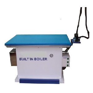 Vacuum ironing table inbuilt boiler