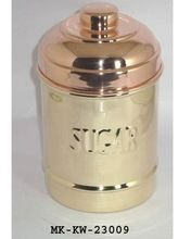 Brass Copper Coffee Container