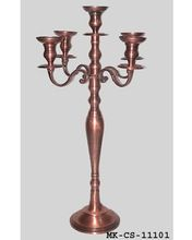 Brass Copper Finish Candelabra