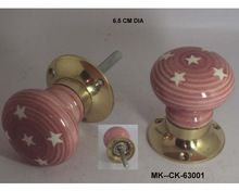 Mortice Lock Ceramic Door Knob