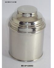 Silver Plated Tea Container