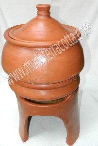 Terracotta Air Steamer Handi