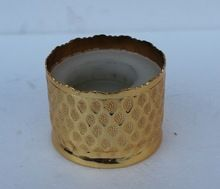 Gold Plated Restaurant Table Votive Candle Holder