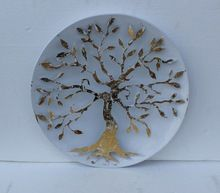 Golden Tree of Life Metal Wall Decor