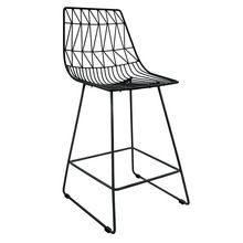 Metal Wire High Chair Commercial Bar Stool