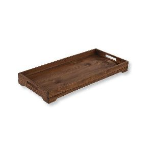 Natural Wood Large Dirt Free Boot Tray