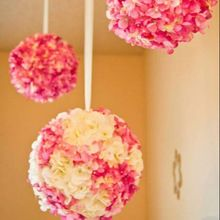 hanging rose flowers ball