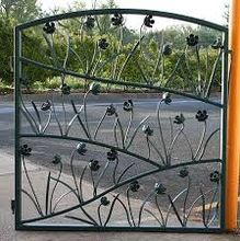 iron house gate