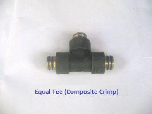 Composite Crimp Equal Tee