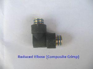 Composite Crimp Reduces Elbow