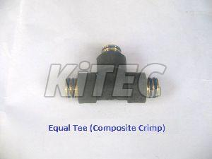 Composite Crimp Equal Tee
