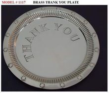 BRASS BILL PLATE