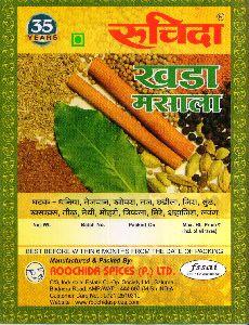 Roochida 250 gm Khada Masala