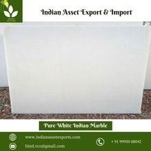 Pure white Indian marble stone